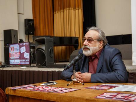 18 ноября прошел мастер-класс Александра Шпагина и показ документальных фильмов