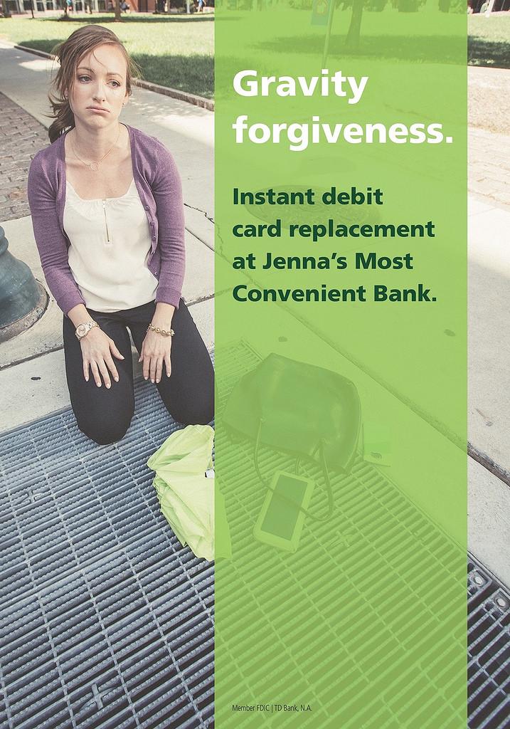TD Bank print