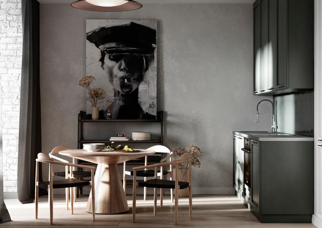 Выразительная картина на кухне