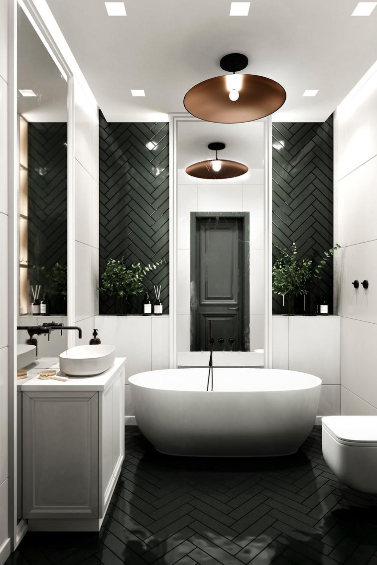 Отдельно стоящая ванная