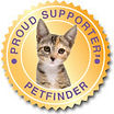 Proud Supporter of Petfinder
