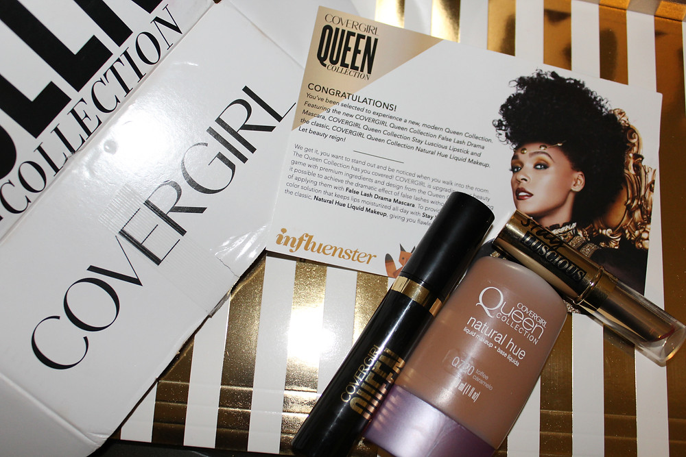 Influenster Covergirl Queen Vox Box