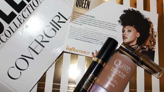 Influenster Covergirl Queen Vox Box