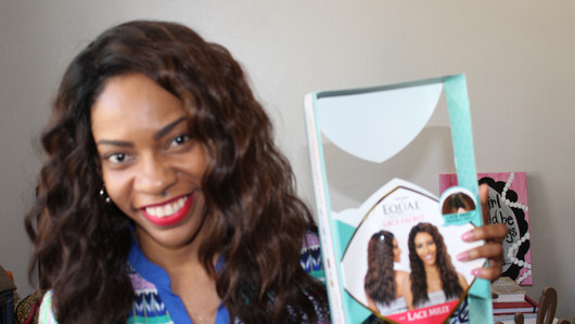 Freetress Lace Front Wig Milly, Unboxing & Try On!