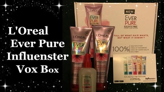 L'Oreal Ever Pure Influenster Vox Box