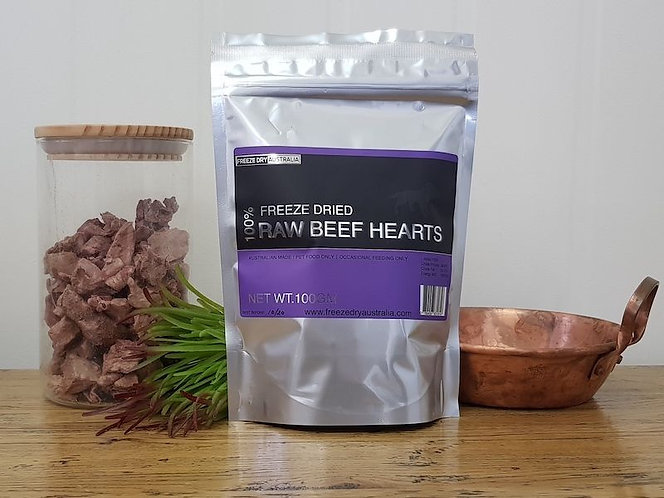Freeze Dried Beef Hearts