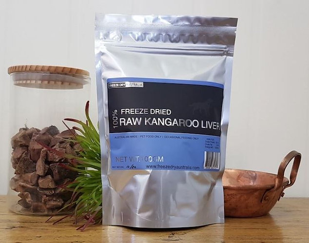 Life On The Hedge | Freeze Dried Kangaroo Liver in Bag