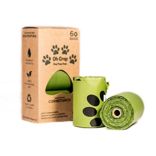 Oh Crap! compostable poop bags - 3 pack