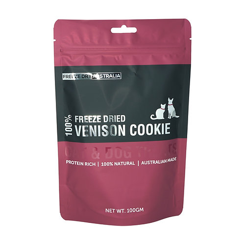 Freeze Dried Venison 'Cookies'