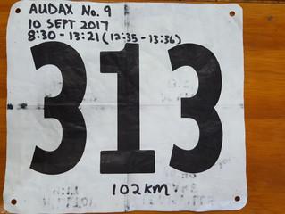 Audax No. 9: Itinerary