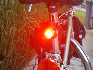 Please, no blinking lights on group rides