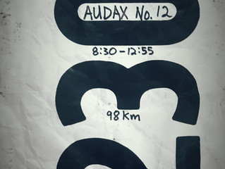 Audax No. 12: itinerary