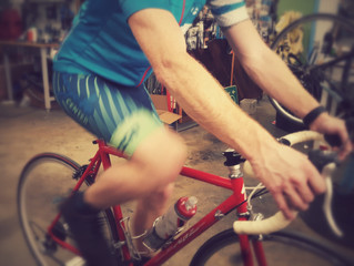 Be realistic and remember not to get all unrealistic during a bike ride...