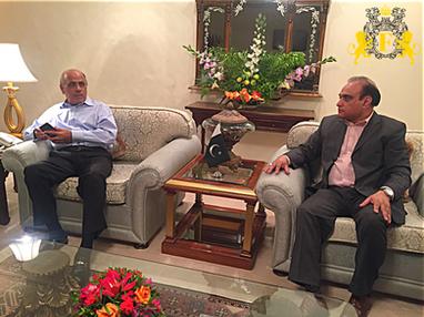 Former Governor of Punjab Pakistan