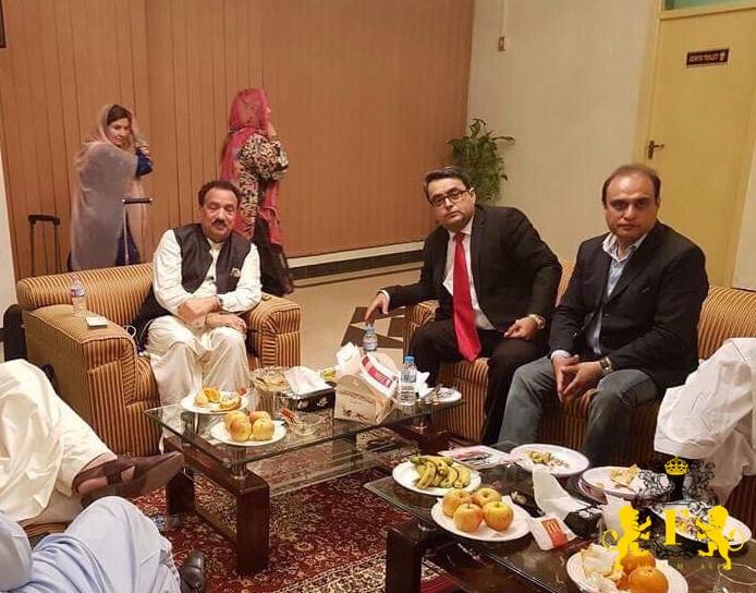 Rehman Malik & Major Fazal Akram