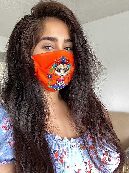 Authentic Mexican face mask (FRIDA)