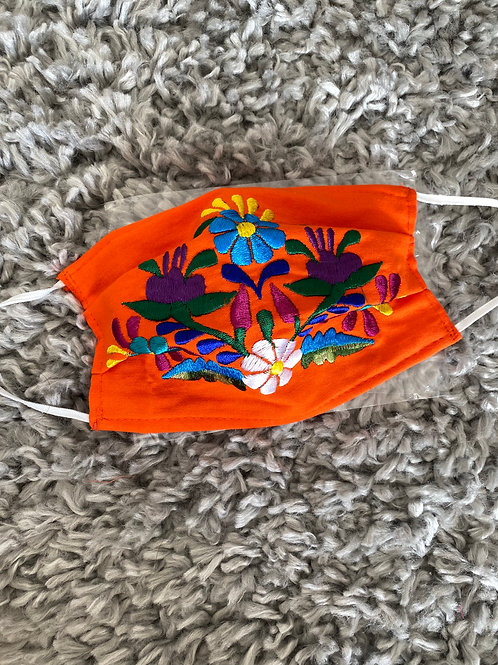 Authentic Mexican face mask (FLORAL)