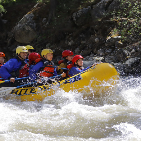 White Water River Rafting in Montana