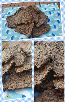 Flax Seed Crackers - recipe