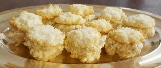 Cocconut sugar free macarons - recipe