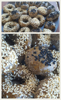 Seed biscuits