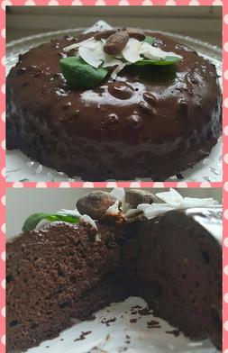 Chocolate cake, sugar and flour free – recipe