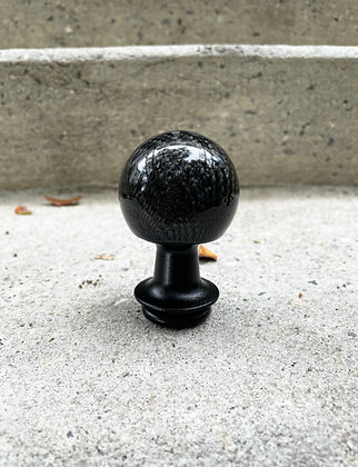 "Carbon Fiber ""The Ball"" Shift Knob for Manual S550 or Universal Conversion Kit"