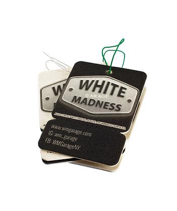 White Madness Garage AirFreshener