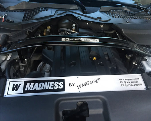 Engine Bay Radiator Cover Name Plate for 2015-17 Mustang
