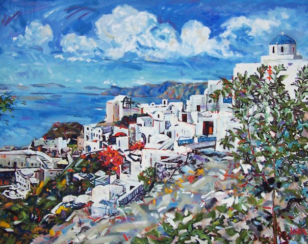 Oia, Santorini #3