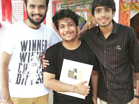 Becoming first channel in town who got Silver Play Button