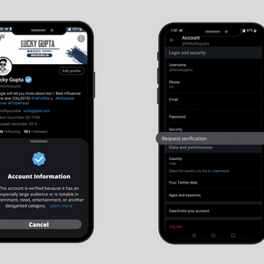 Public forms for Twitter verification will be opening in early January 2021