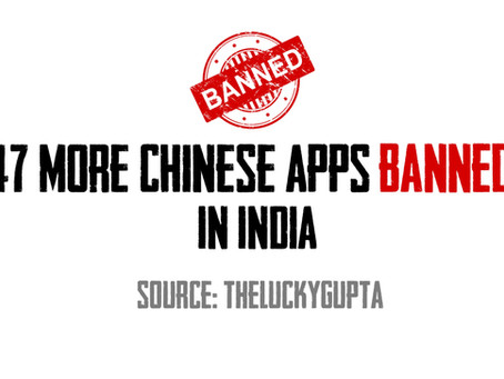 47 More Chinese apps banned in India