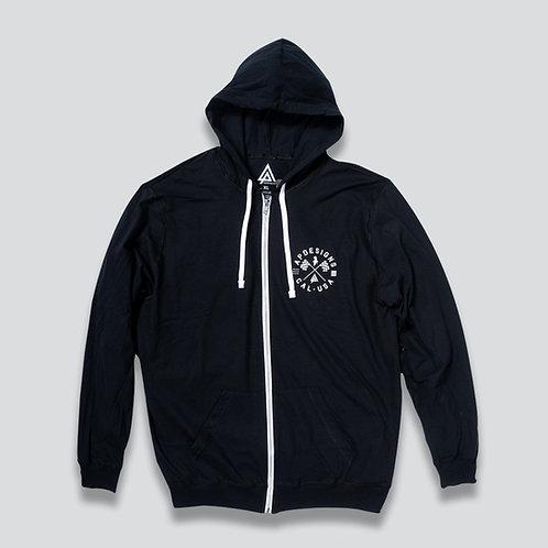 AP Designs Zip Hoodie
