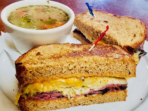 The Loafers' Reuben Sandwich