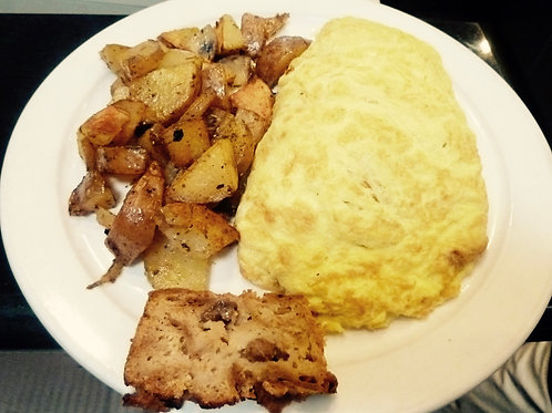 Everything but the Kitchen Sink Omelet