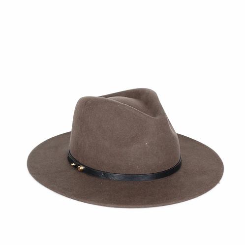 ACE OF SOMETHING | Oslo Felt Hat | Truffle