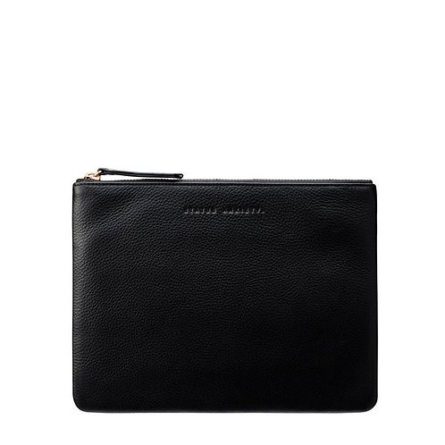 STATUS ANXIETY | Fake It Clutch | Black