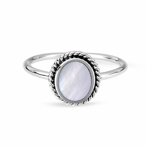 MIDSUMMER STAR | Sephira Mother of Pearl Ring