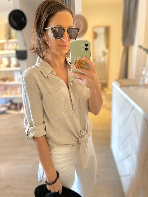 Tallows Linen Shirt | Natural