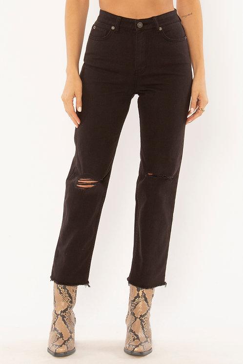 AMUSE SOCIETY | Selena Jeans | Off Black