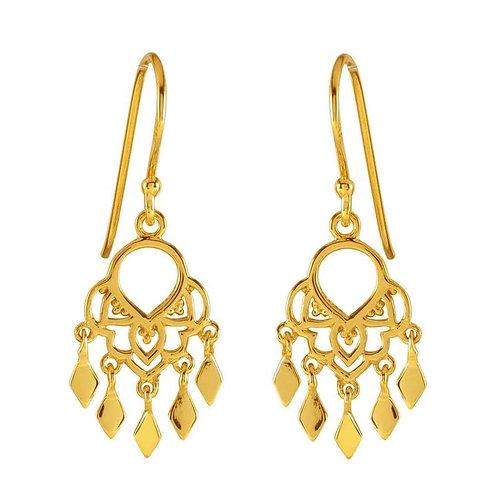 MIDSUMMER STAR | Gold Jaipur Earrings