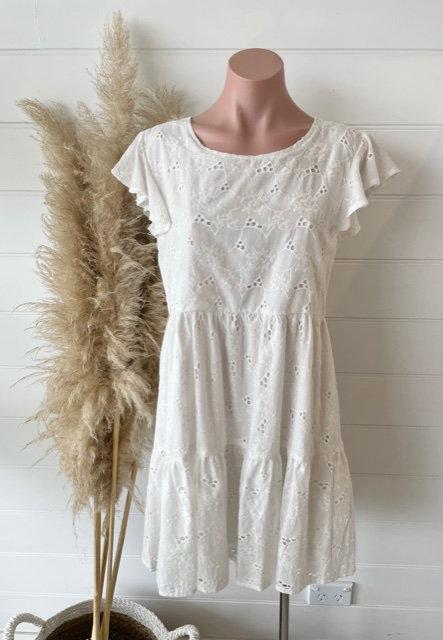 Kaia Dress | White