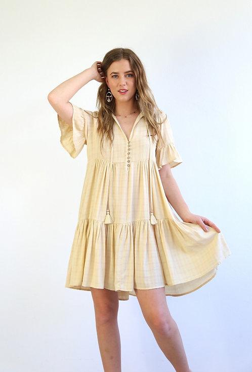 Bri Dress | Beige