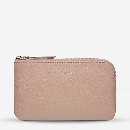 STATUS ANXIETY | Smoke And Mirrors Wallet | Dusty Pink