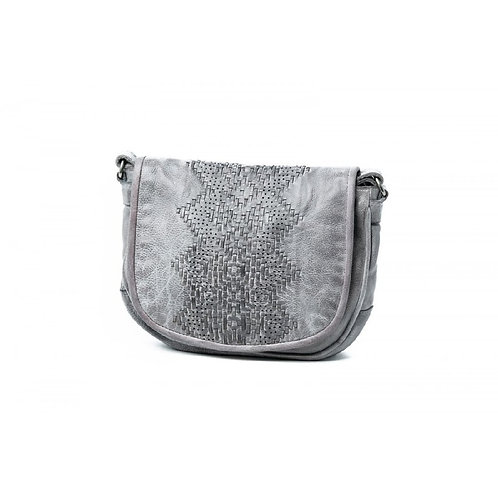 RUGGED HIDE | Tracy Leather Bag | Grey