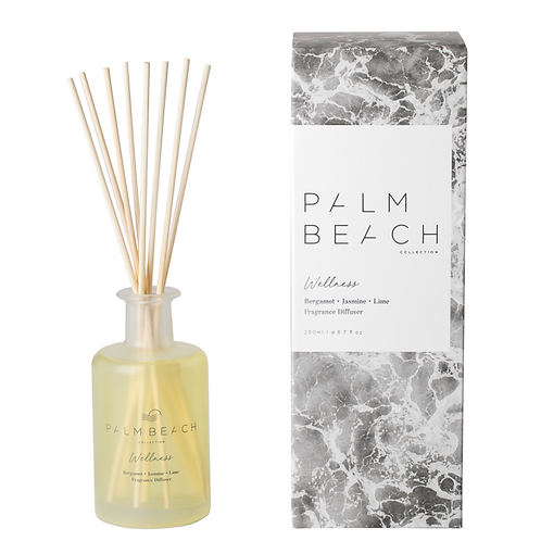 PALM BEACH | Wellness Reed Diffuser | Bergamot, Jasmine & Lime