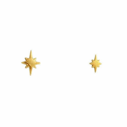 MIDSUMMER STAR | Gold Celestial Studs