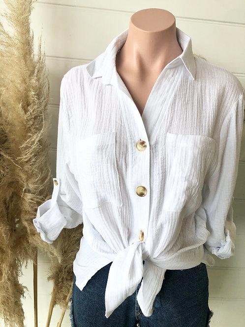 Chelsea Shirt | White