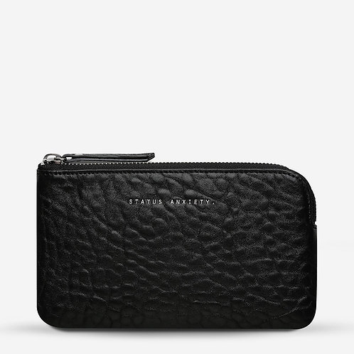 STATUS ANXIETY | Smoke And Mirrors Wallet | Black Bubble